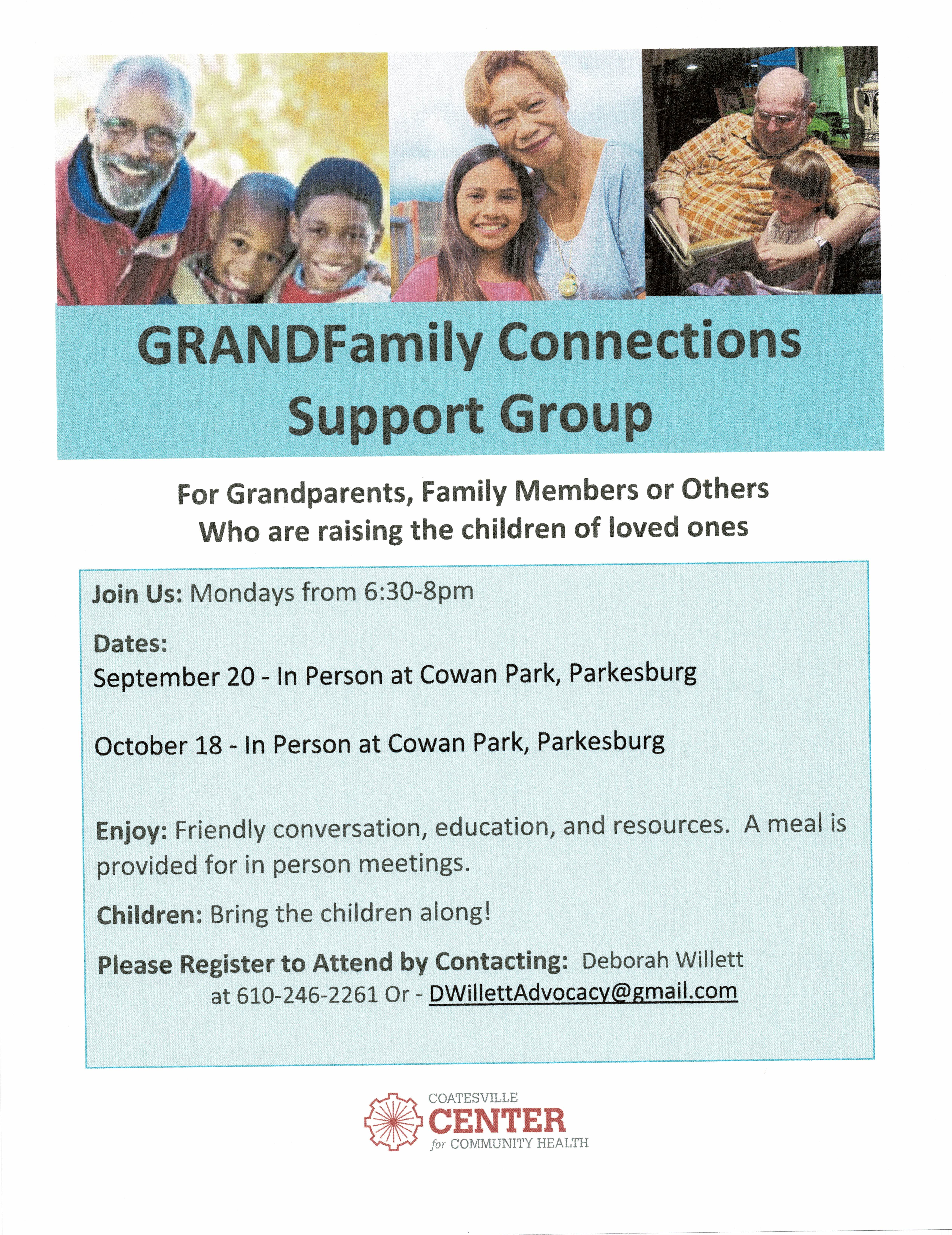 GRANDFamily Connections Support Group