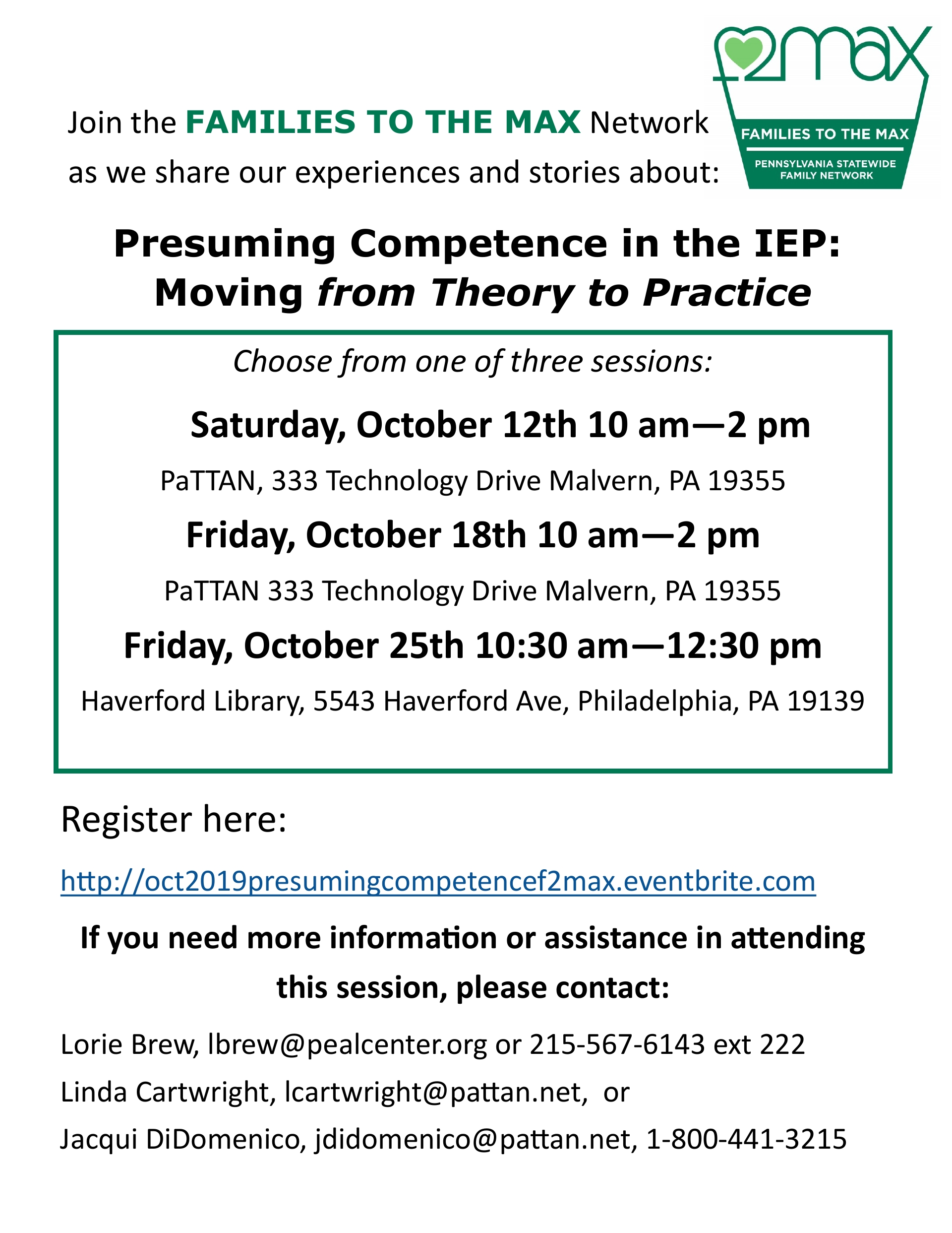 IEP TRAINING: Presuming Competence in the IEP: Moving from Theory to Practice