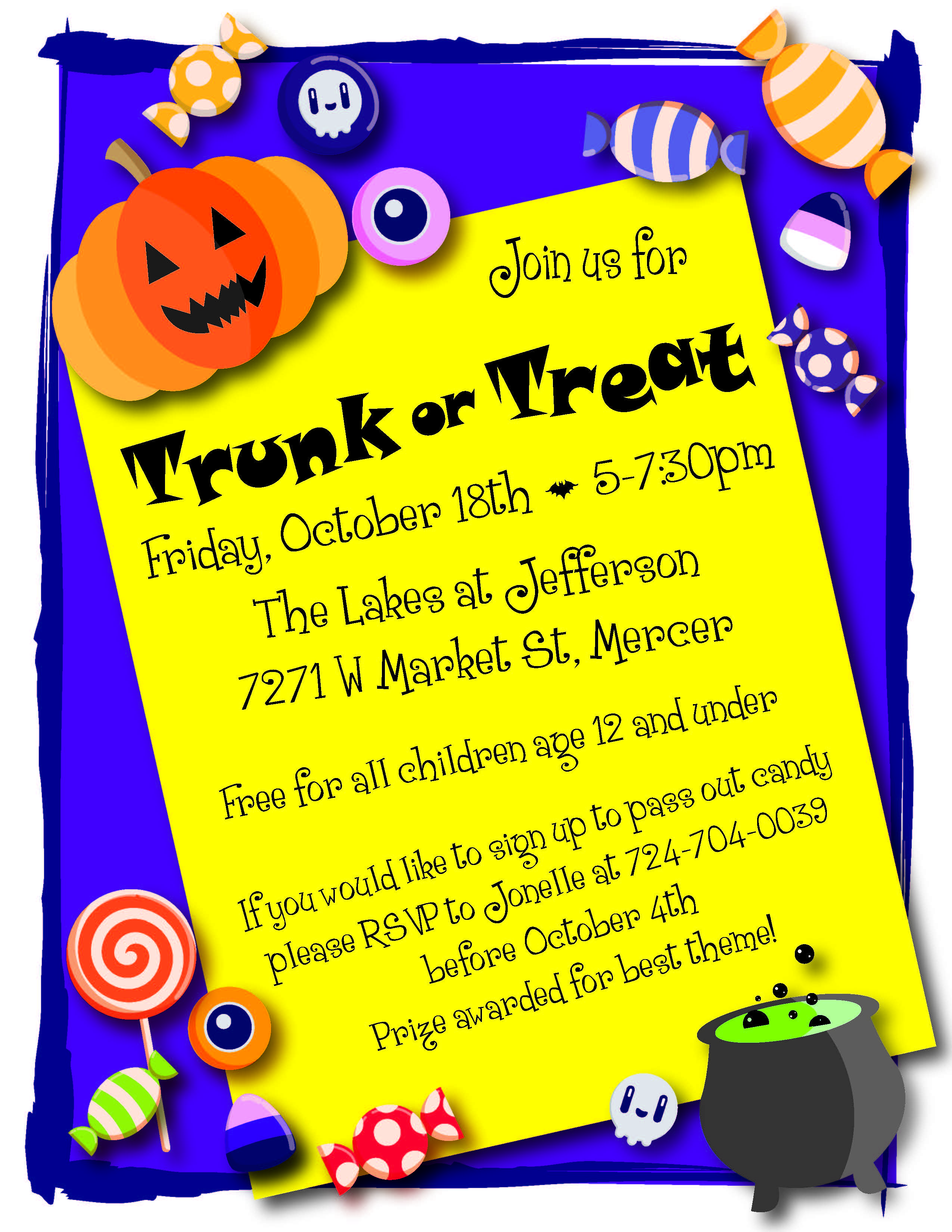 TRUNK OR TREAT Mercer County